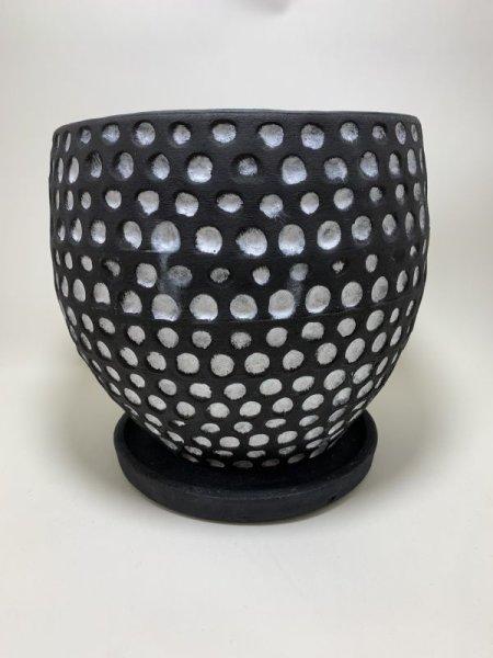 画像1: 陶器鉢 ハイブボール (1)